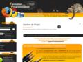 Accueil du site de formation en langage de programmation web, php mysql et autre javascript