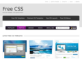 Free CSS | Free CSS Templates, Open Source CSS Templates and CC CSS Templates