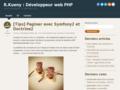 R.Kueny : développement web