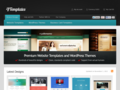 Website Templates for Dreamweaver, Frontpage, GoLive, and Flash - 4Templates.com